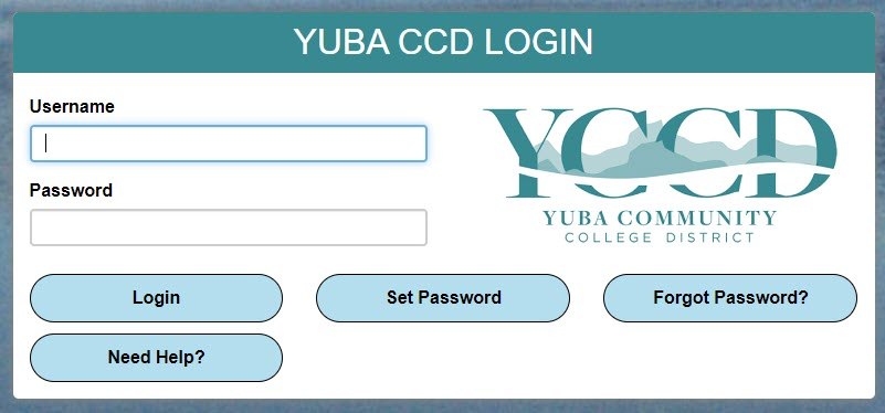 Image of YCCD Single Sign On Log In